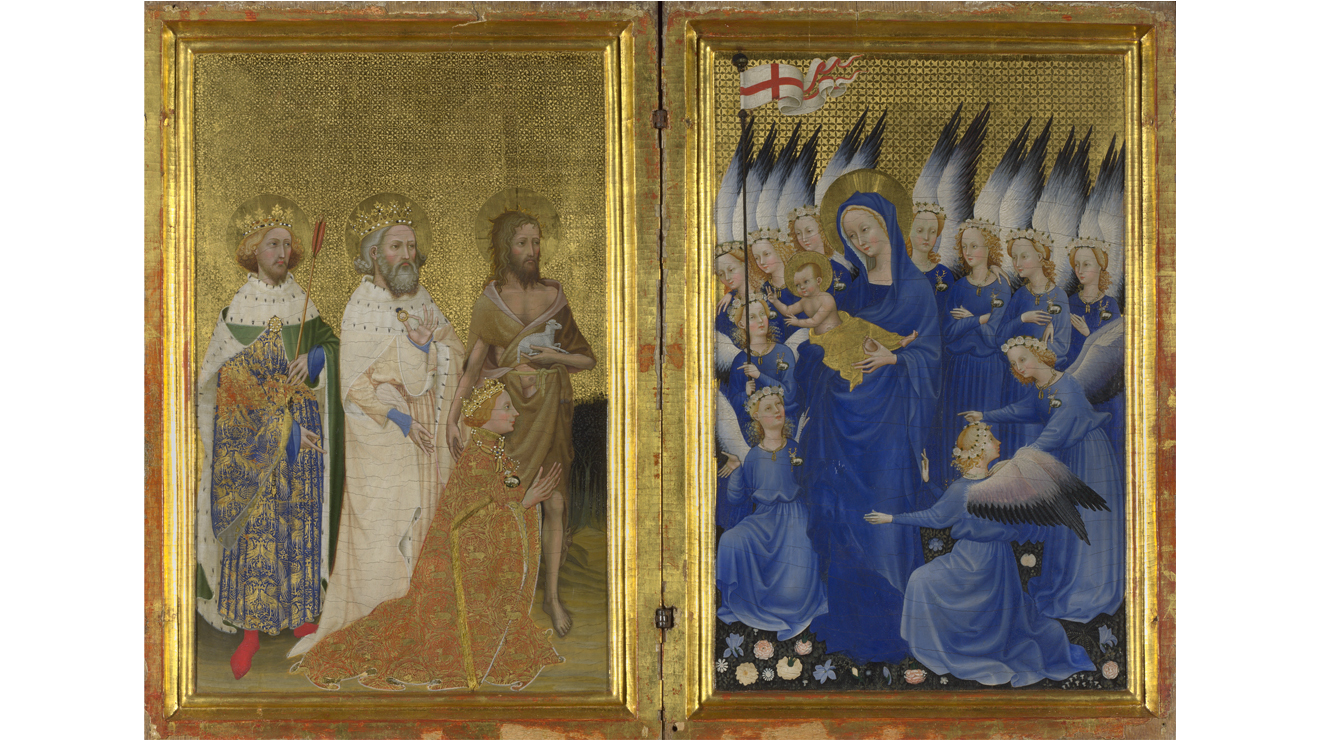 'The Wilton Diptych' - Unknown artist