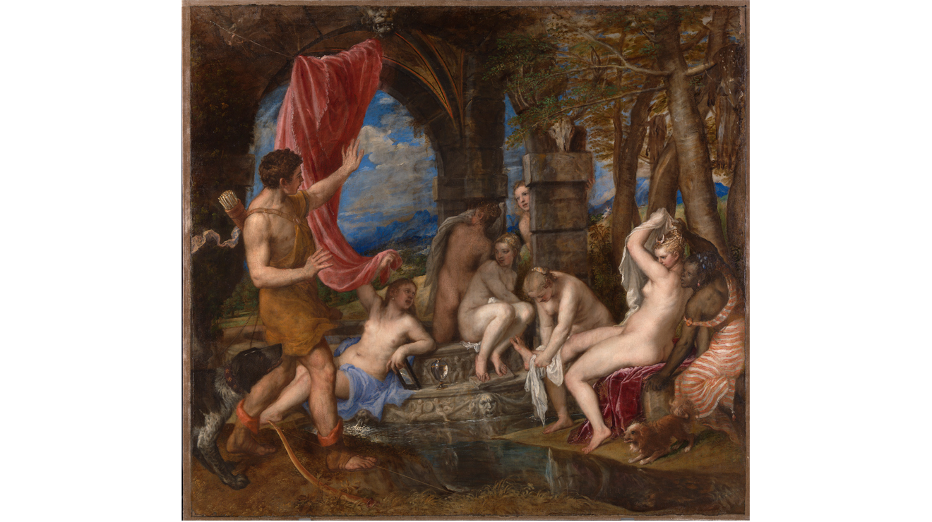'Diana and Actaeon' - Titian
