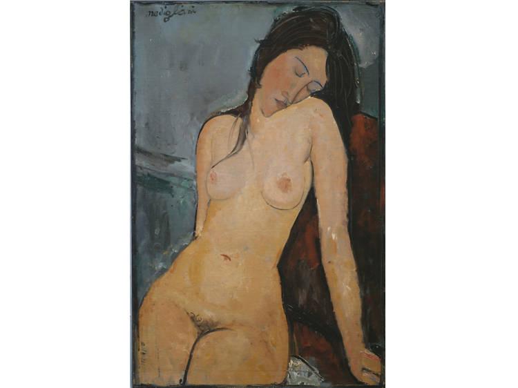 'Female Nude' - Amedeo Modigliani
