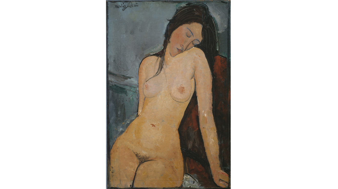 'Female Nude' - Amedeo Modigliani