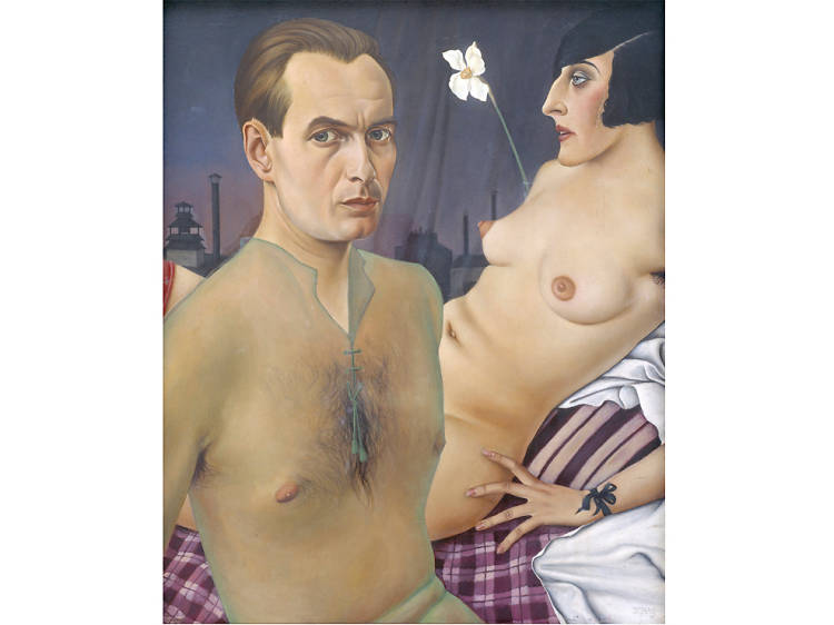 'Self-Portrait' - Christian Schad