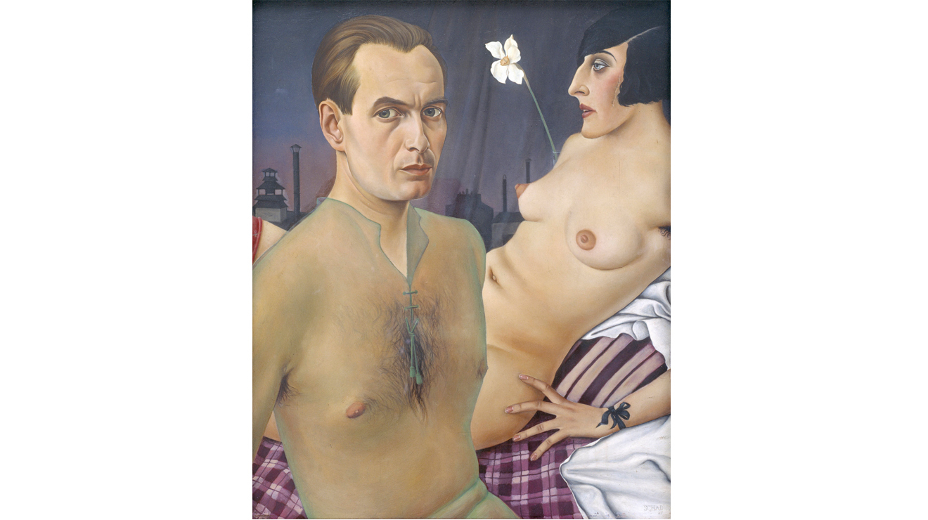 'Self-Portrait' - Christian Schad