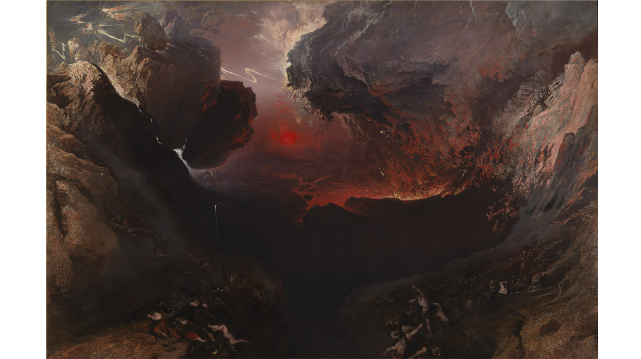 The Great Day of His Wrath' - John Martin
