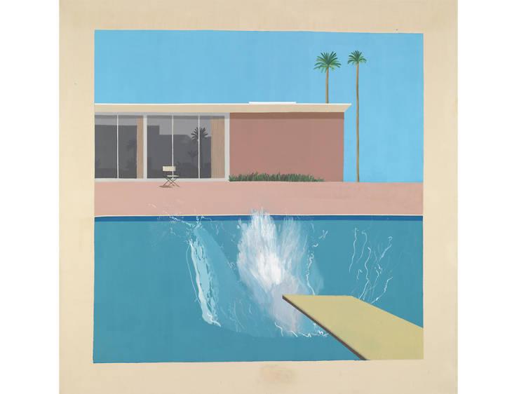 'A Bigger Splash' - David Hockney