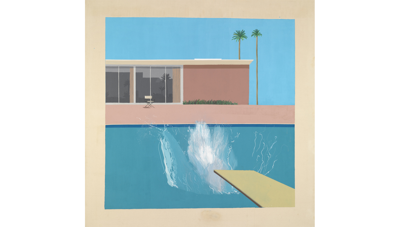 'A Bigger Splash' - David Hockney
