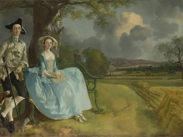 'Mr and Mrs Andrews', Thomas Gainsborough