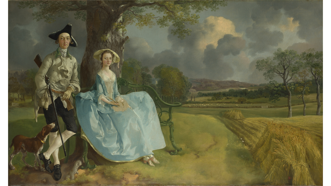 'Mr and Mrs Andrews', Thomas Gainsborough