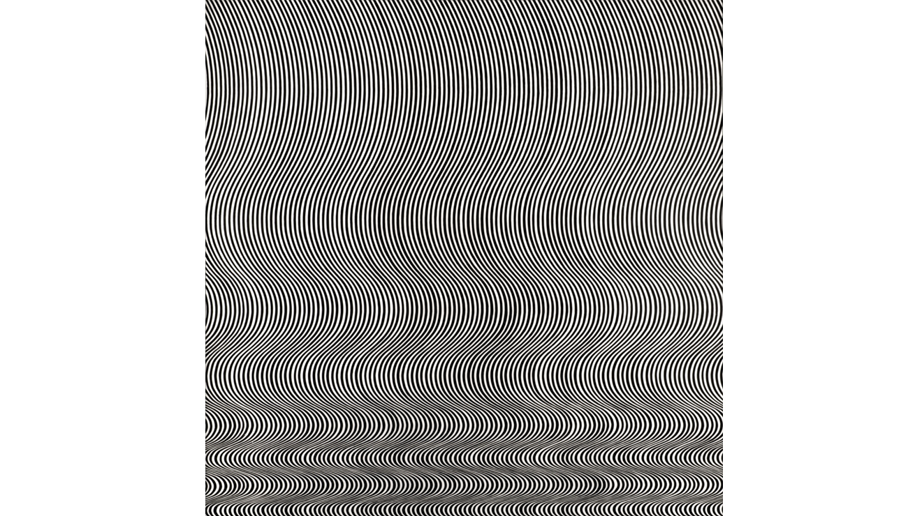 'Fall' - Bridget Riley