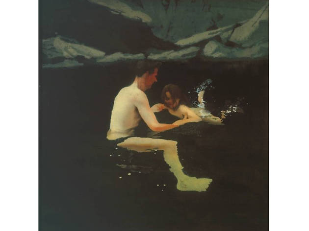 'Melanie and me Swimming' - Michael Andrews