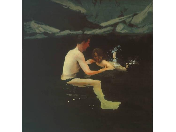 'Melanie and me Swimming' - Michael Andrews