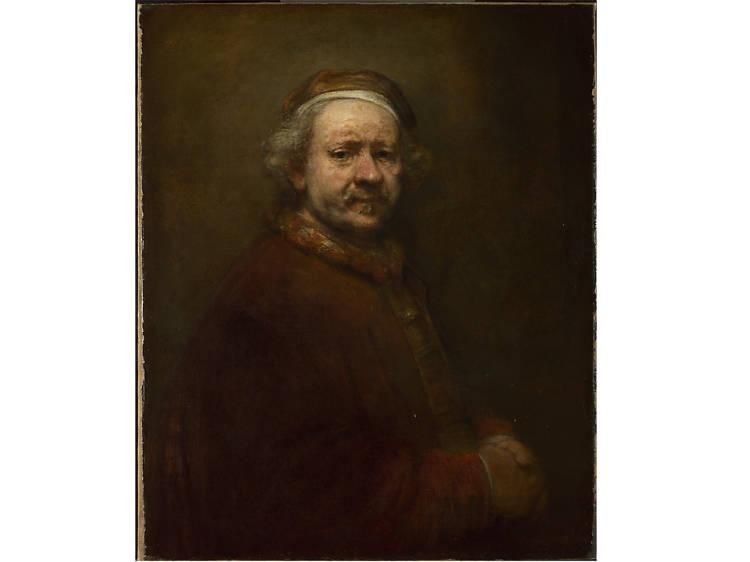 'Self-Portrait at the Age of 63' - Rembrandt van Rijn