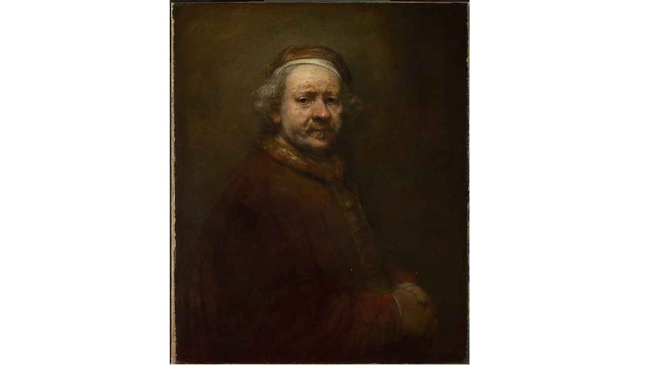 'Self-Portrait at the Age of 63' - Rembrandt van Rijn