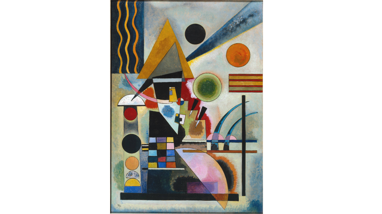 Swinging' - Wassily Kandinsky