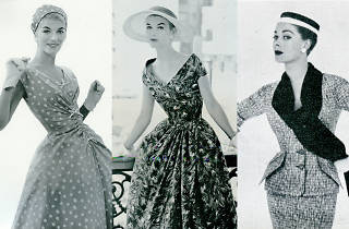 3 dresses from the 1950s