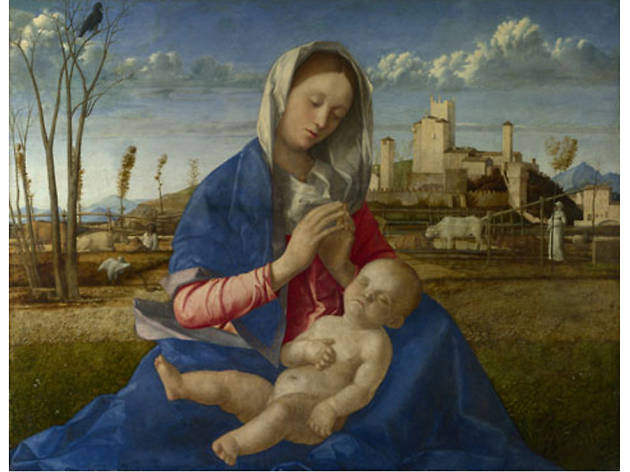 'Madonna of the Meadow' - Giovanni Bellini