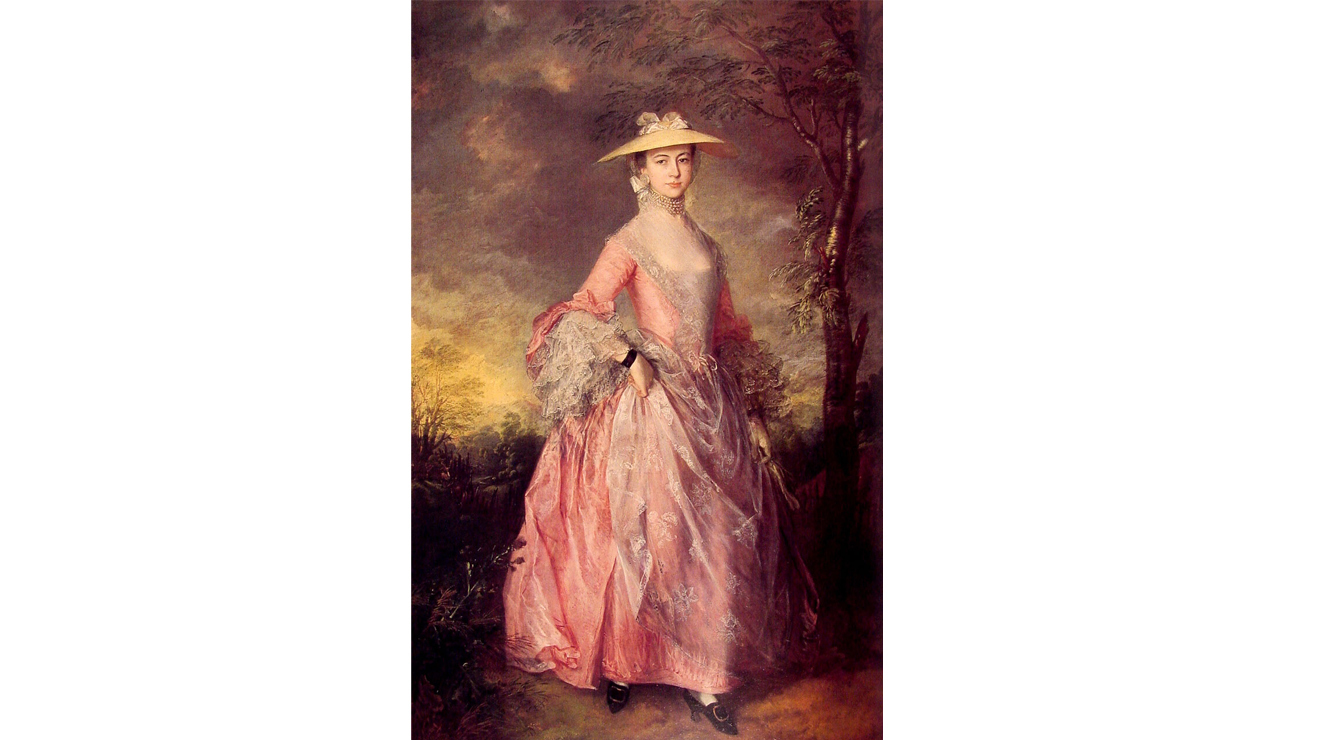 'Mary Countess of Howe' - Gainsborough
