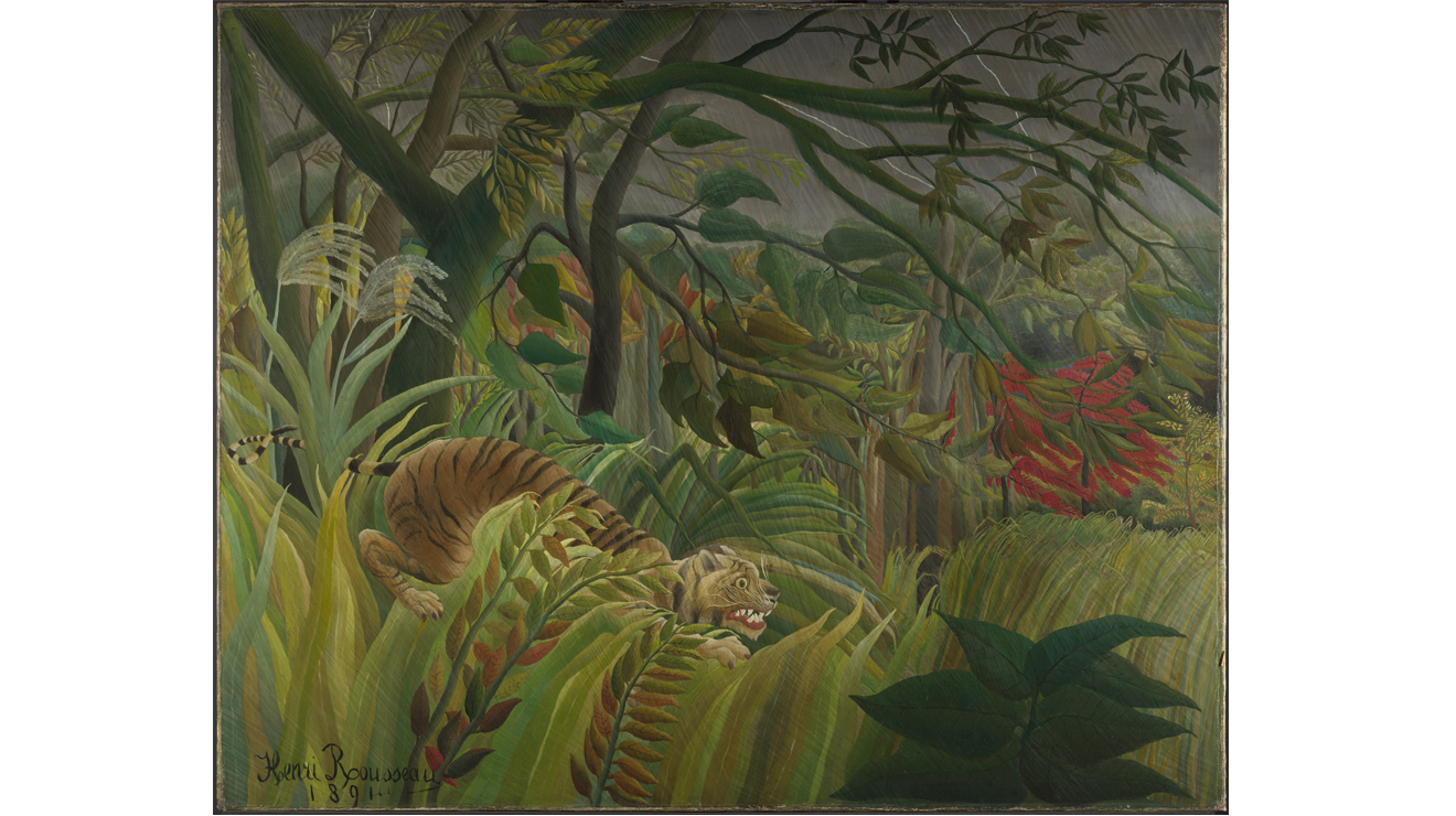 'Surprised' - Henri Rousseau