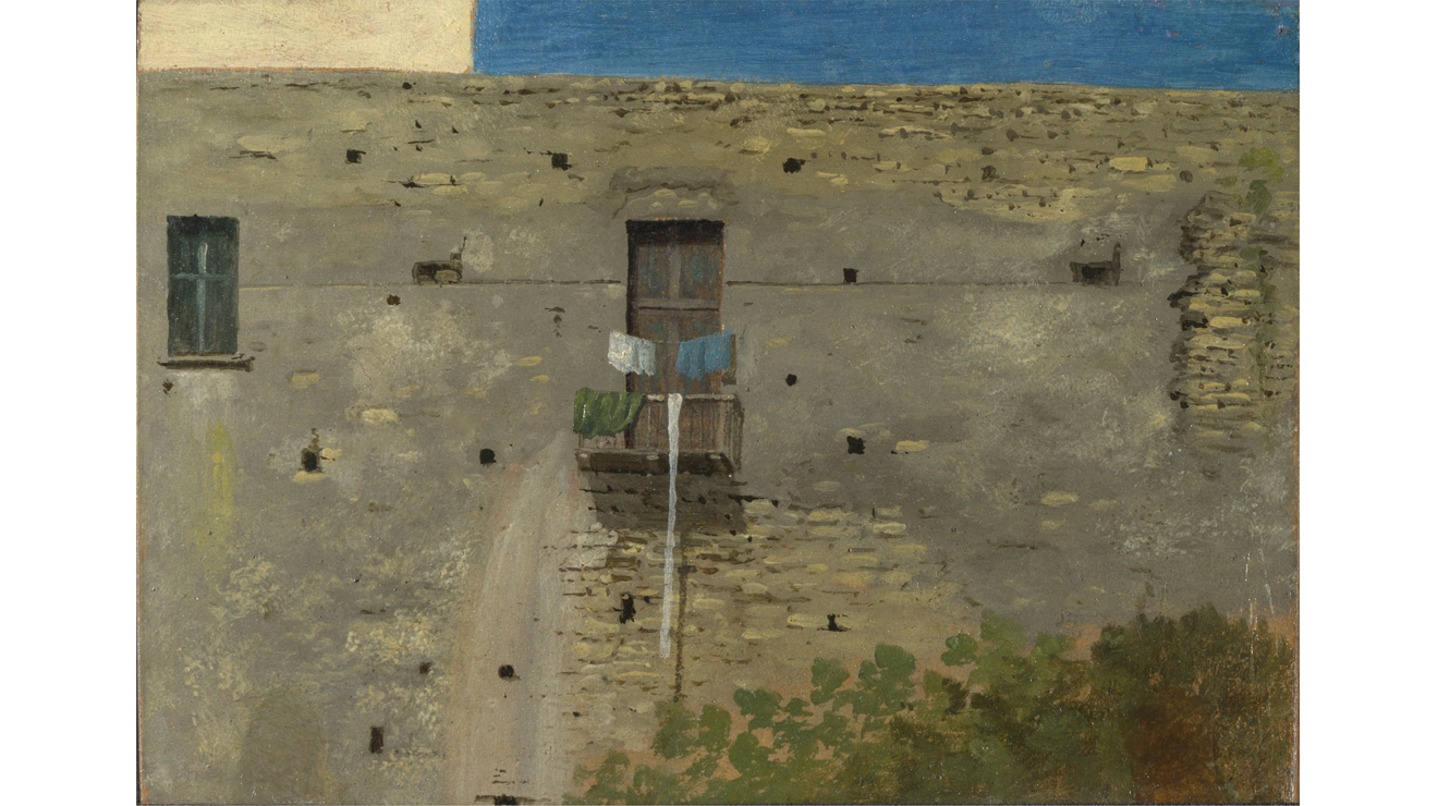 'A Wall in Naples' - Thomas Jones