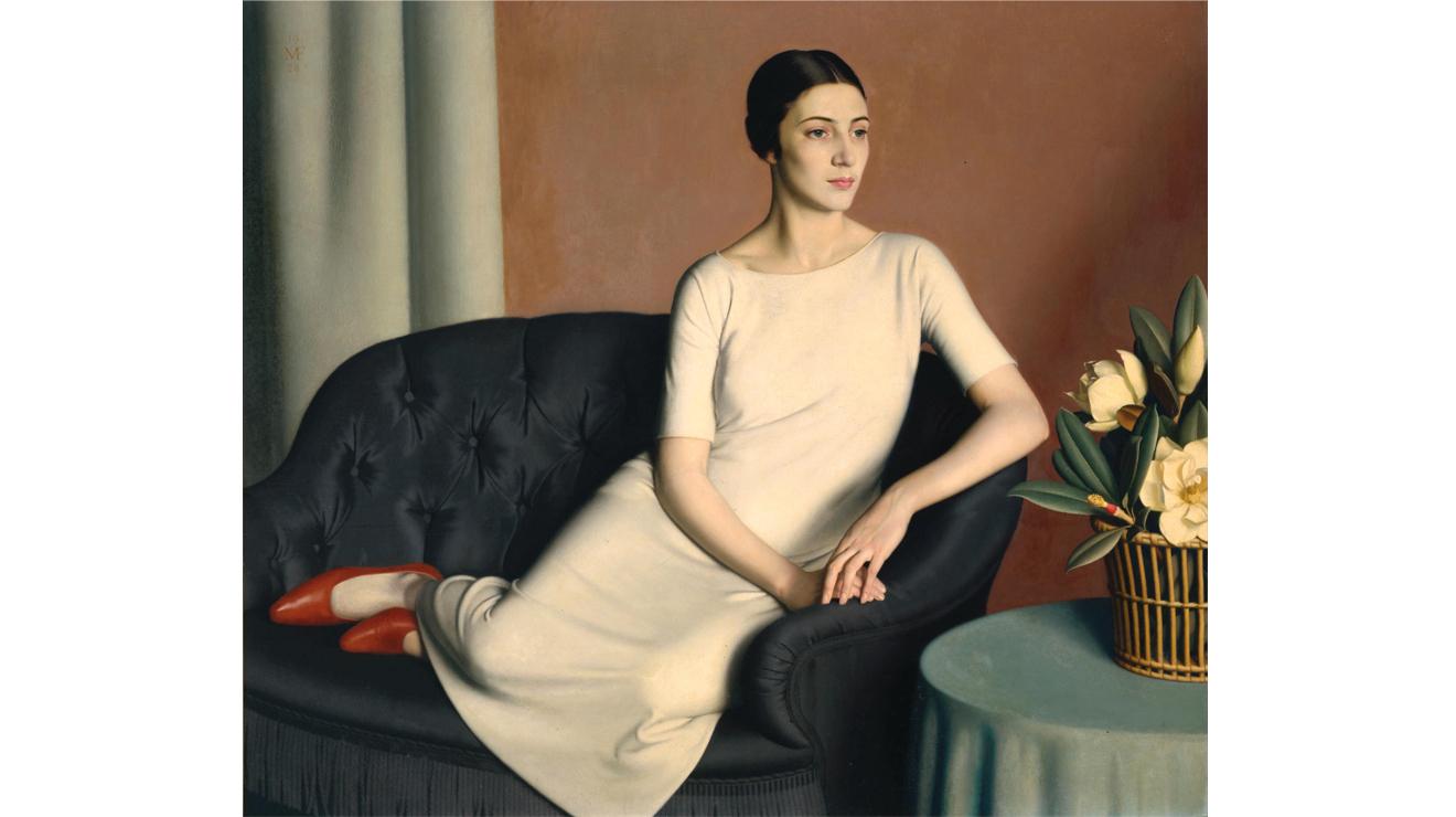'Marguerite Kelsey' - Meredith Frampton