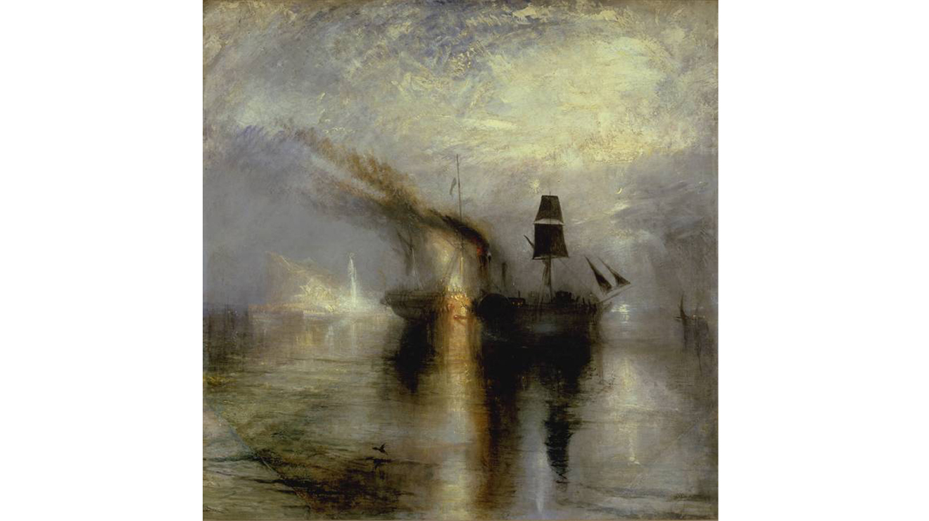 'Peace: Burial at Sea' - JMW Turner