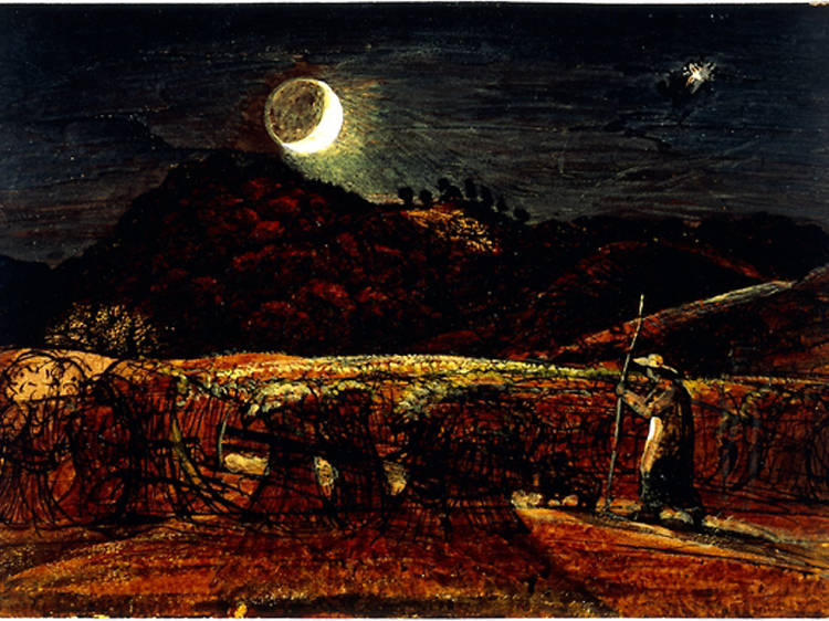 'A Cornfield by Moonlight with the Evening Star' - Samuel Palmer