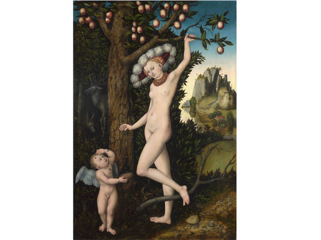 'Cupid Complaining to Venus' - Lucas Cranach