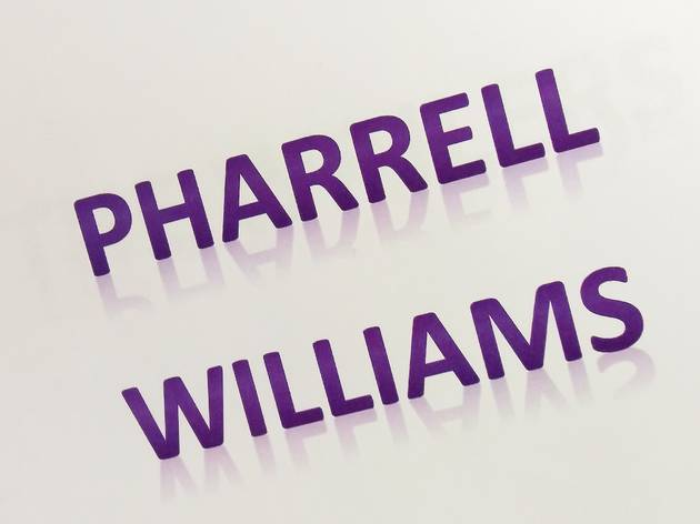 Pharrell Williams, June 24 2014