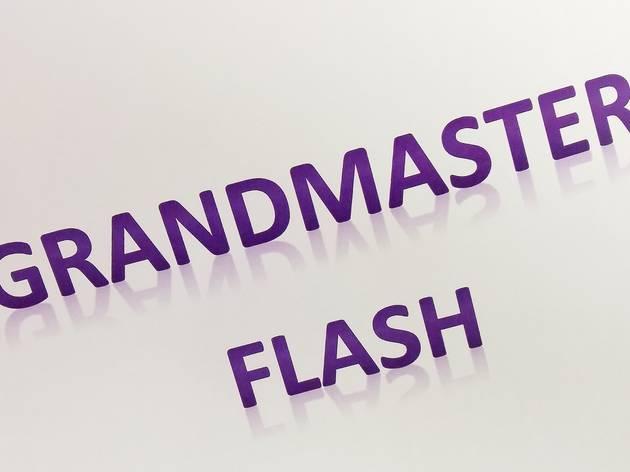 Grandmaster Flash, August 1 2014