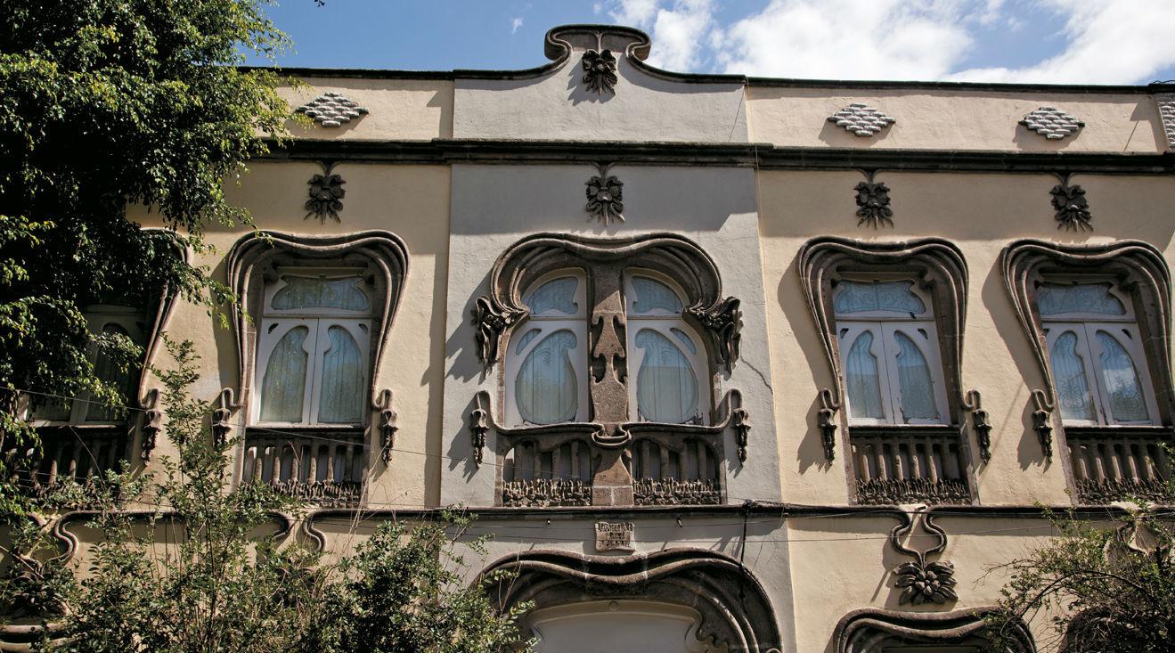 Joyas de la arquitectura art nouveau en el df Art nouveau arquitectura