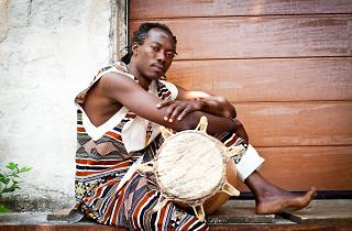 Kofi Quarshie master drummer workshop