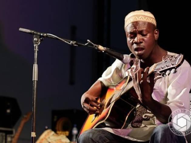 Fatau Keita performs at Cuzzy Bro's Accra, Ghana