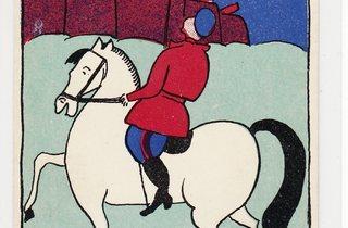 Vladimir Malevich ('Modern Lubok Postcard', 1914-17)