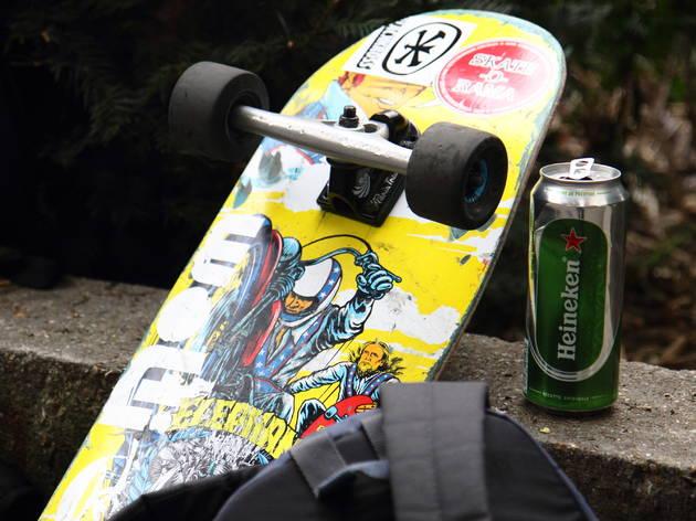 Skate • Se faire une rampe à la Bastille