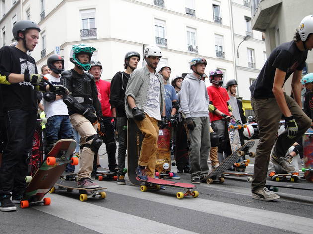Skaters, tous à Paris