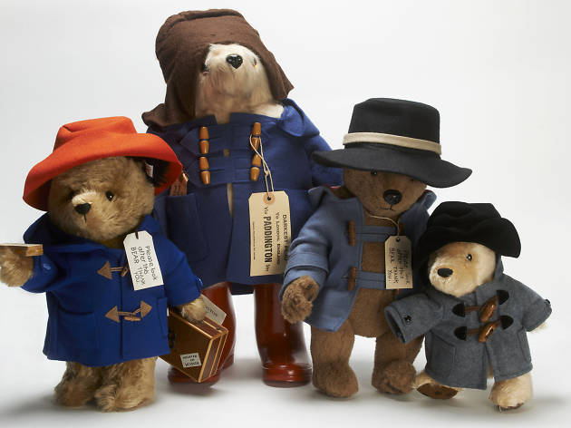 Paddington Bear toys from A Bear Named Paddington, Museum of London