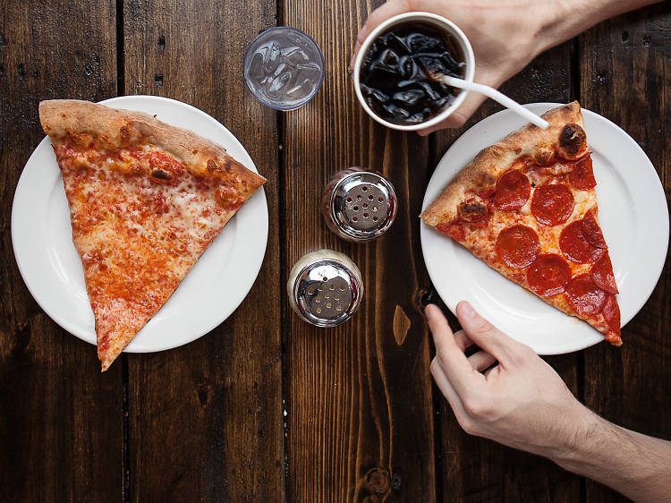 6 places for a pizza slice