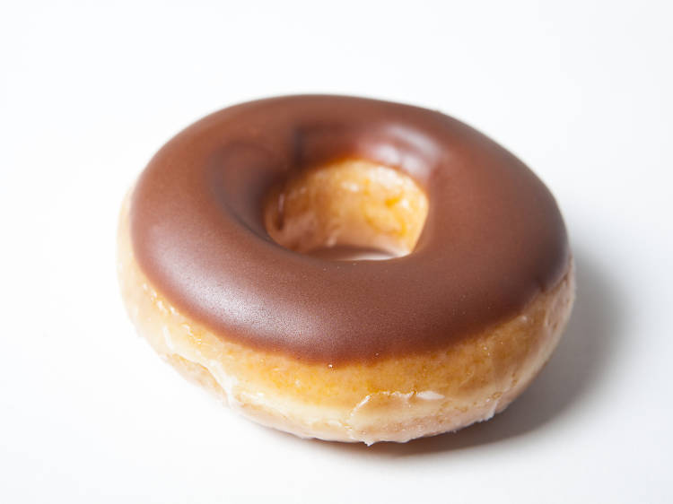 The best frosted donut: Krispy Kreme
