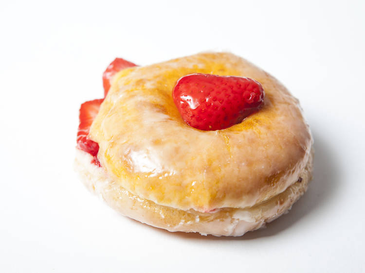 The best jelly-/fruit-filled donut: SK Donuts & Croissants