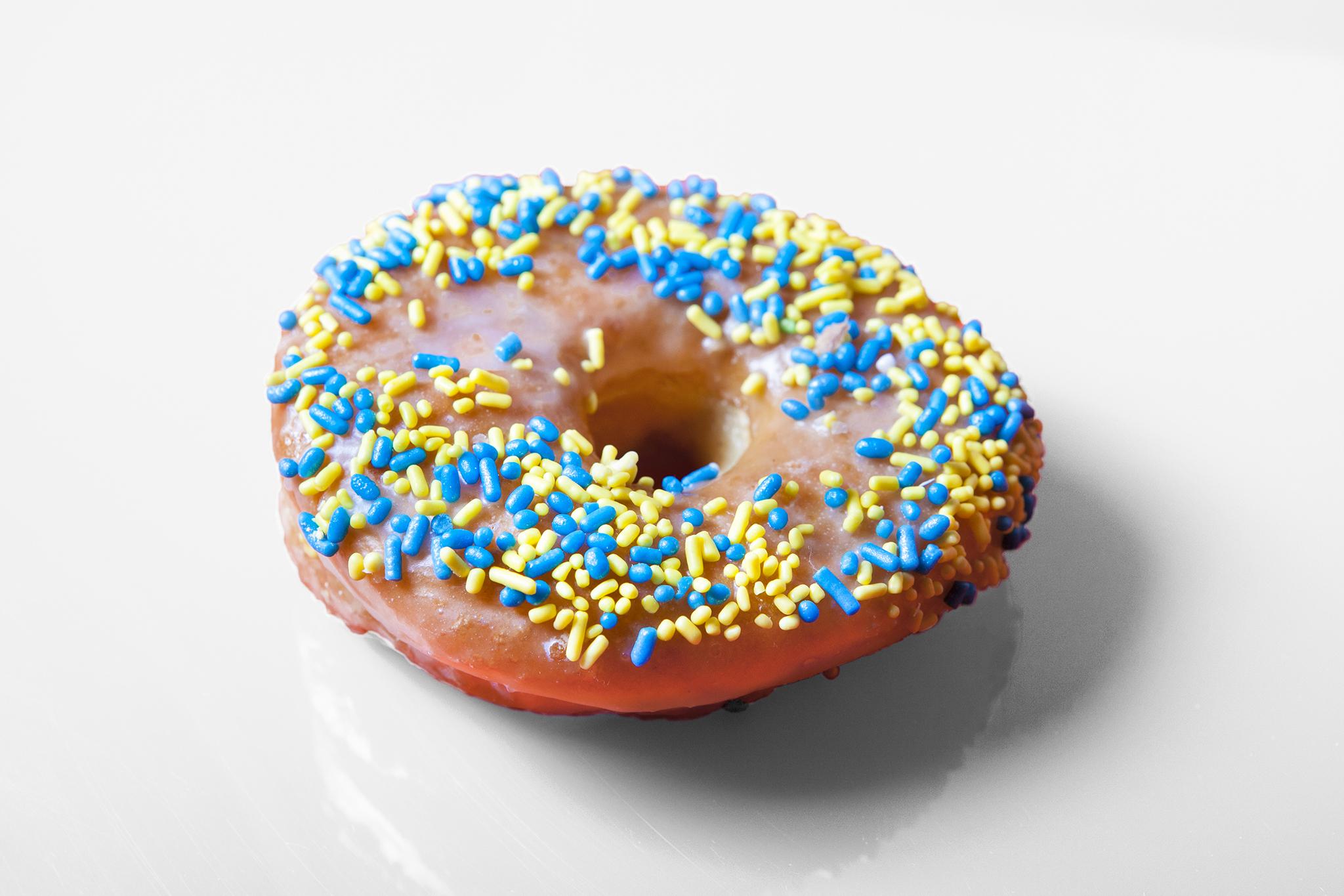 The best donuts in LA: Sprinkles donut from Stan's Corner Doughnut Shop