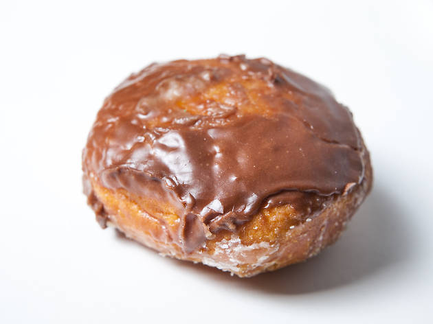 The best donuts in LA: Cream-filled donut from The Donut Man