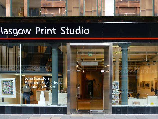 Glasgow Print Studio, Art galleries, Glasgow