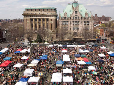 Here are the opening dates for the best flea markets and street fairs in NYC