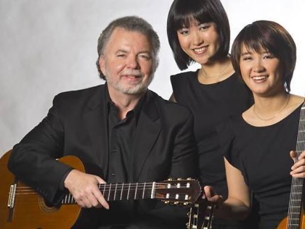 Mestres de la guitarra al Palau: Manuel Barrueco + Beijing Guitar Duo