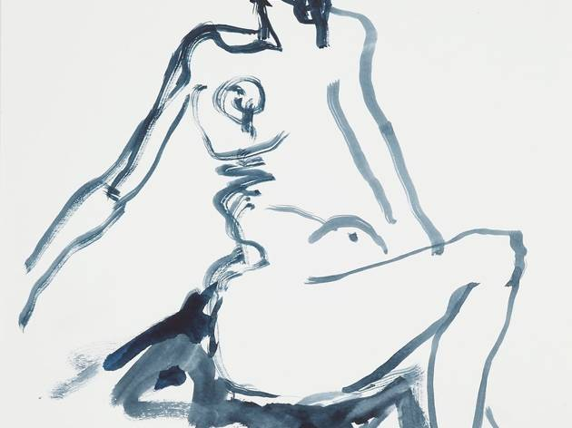 Tracey Emin ('Up Straight')