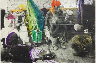 Sigmar Polke ('Untitled (Quetta, Pakistan)' 1974-1978 )