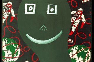 Sigmar Polke ('Polke as Astronaut (Polke als Astronaut)' 1968 )