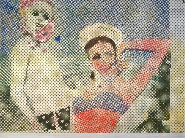 Sigmar Polke ('Girlfriends (Freundinnen)', 1965-66 )