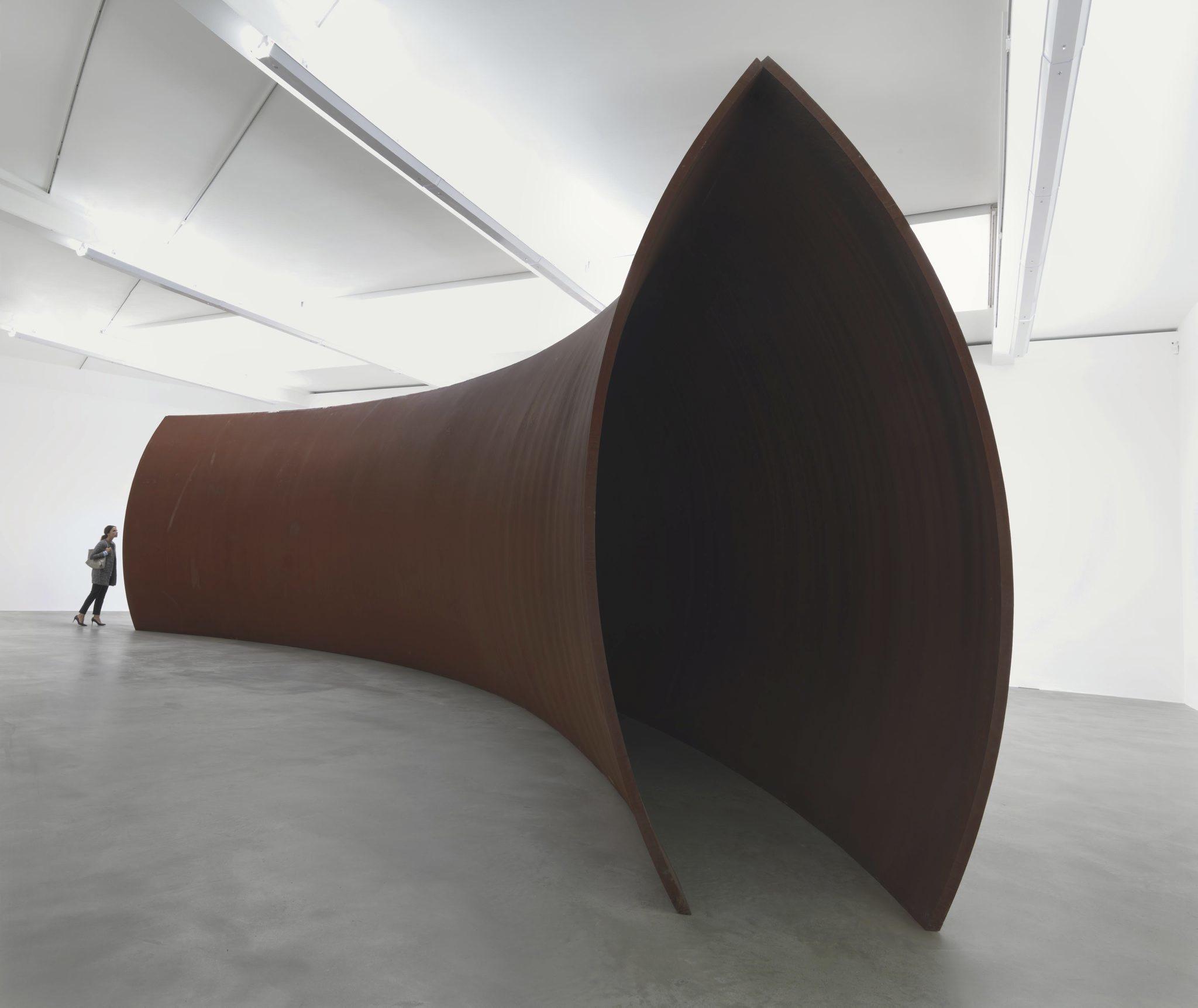 Modern Minimalist Artist Richard Serra Art In London