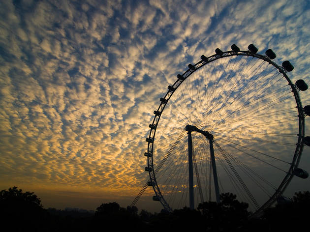 Ride in Asia's largest observation wheel