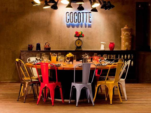 Eat a french meal in Little India